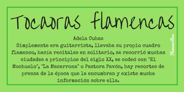 flamencolica tocaoras flamencas